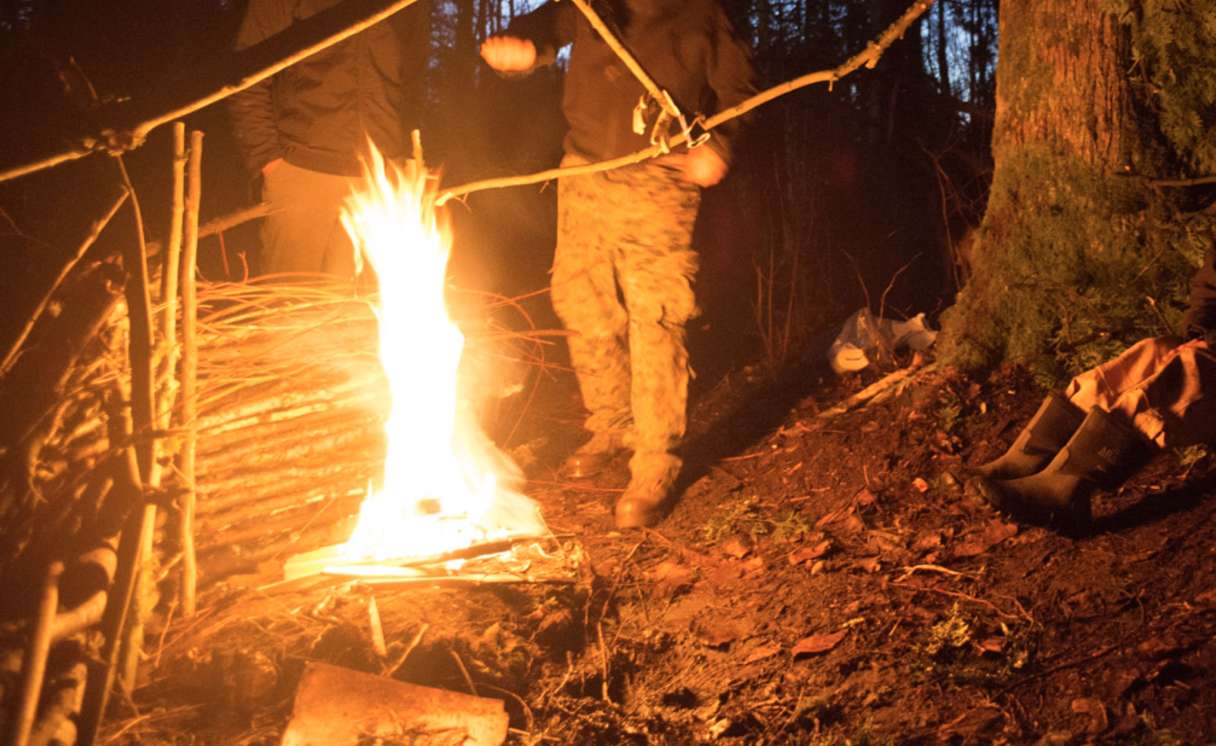 Outdoor Skills Workshop July 28th Update on Deep Green Resistance in Oregon